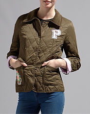 Pauls Boutique Quilt Fitted Jacket