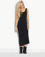 BLONDE & BLONDE Logo Maxi Dress