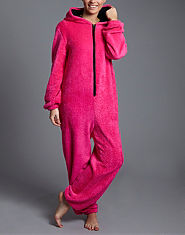 Ribbon Fluffy Onesie
