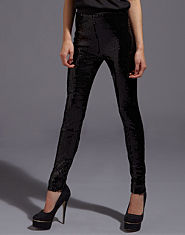 Ribbon Luxe Sequin Leggings