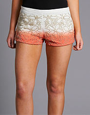 Ribbon Beadwork Shorts