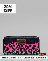 Pauls Boutique Lizzie Leopard Purse