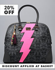 Pauls Boutique Elisa Lightning Beastie Bag