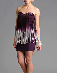 Rare Jewelled Fringe Dress