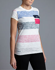 Voi Jeans Hays Striped Pocket T-Shirt