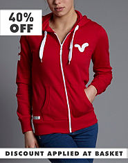 Voi Jeans Zip Up Hoody