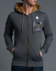 Beck and Hersey Sneaker Tiger Hoody
