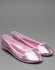 Bank Candy Slipper Pumps