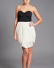 Lipsy Two in One Bandeau Dress