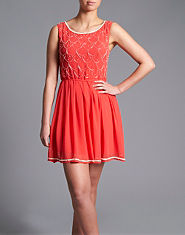 Lipsy Beaded Dress