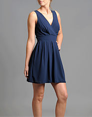 Wal G Cross Front Dress