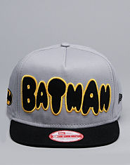 New Era Batman Snapback Cap