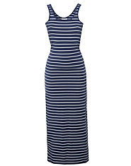 ONLY Striped Maxi Dress