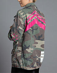 Pauls Boutique Army Jacket