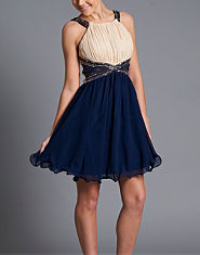 Little Mistress Lace Embellished Prom Dress
