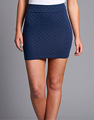 ONLY Gaby Polka Dot Mini Skirt