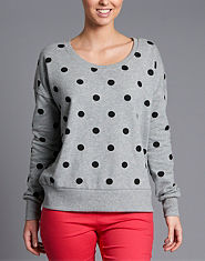 ONLY Dot Sweatshirt