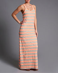 ONLY Milla Stripe Maxi Dress