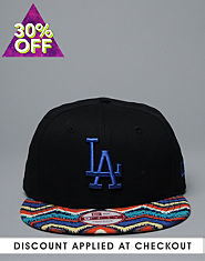 New Era 9FIFTY LA Zig Zag Snapback Cap
