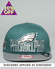 New Era 9FIFTY Philadelphia Eagles Snapback Cap
