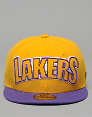 New Era Los Angeles Lakers 59FIFTY Cap
