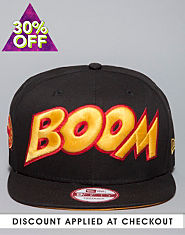 New Era 9FIFTY DC Comic Snapback Cap