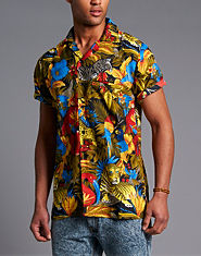JayK Hawaiian Jungle Shirt