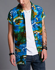 JayK Hawaiian Palm Shirt