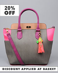 Pauls Boutique Maggie Colour Block Handbag