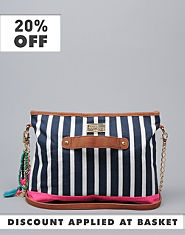 Pauls Boutique Kiera Stripe Handbag