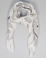 Bank Gem Skull Scarf