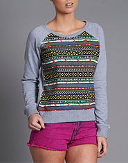 Tulisa TFB Aztec Sweat