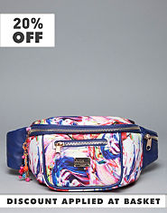 Pauls Boutique Jackie Splatter Bum Bag