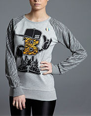 Beck and Hersey Zebra Logo Sweatshirt