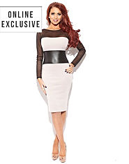 Amy Childs India Panel Dress