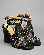 Kitsch Couture Esther Studded Heels