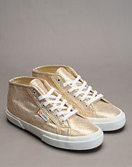SUPERGA Rita Ora 2754 Lame Trainers
