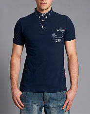 Criminal Damage Hackney Polo Shirt