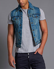 Criminal Damage Zuko Denim Gilet
