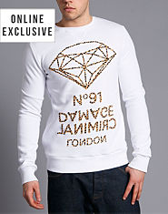 Criminal Damage Diamond Sweatshirt
