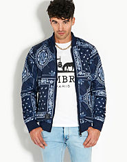Criminal Damage Bandana Reversible Bomber Jacket