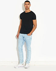 Criminal Damage SOS CD4 Skinny Jeans