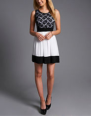 Wal G Lace Shift Dress