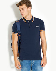 Superdry Tipped Collar Polo Shirt