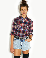 Glamorous LOVE Belt Denim Shorts