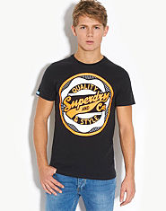 Superdry Seal Tin Tab T-Shirt