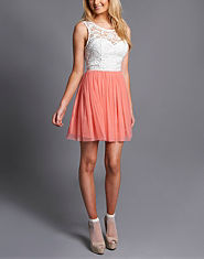 Lipsy Lace 2 In 1 Dress