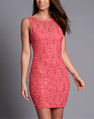 Lipsy Lace Sequin Dress