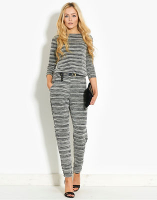 BLONDE & BLONDE Space Dye Jumpsuit