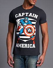 Outcast Captain America T-Shirt